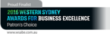 Excellence in Business, Marketing, Market Research, WSABE, NSW BC Awards